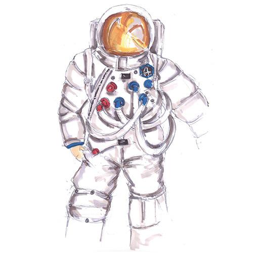 Cosmonaute © Christine Capdevielle