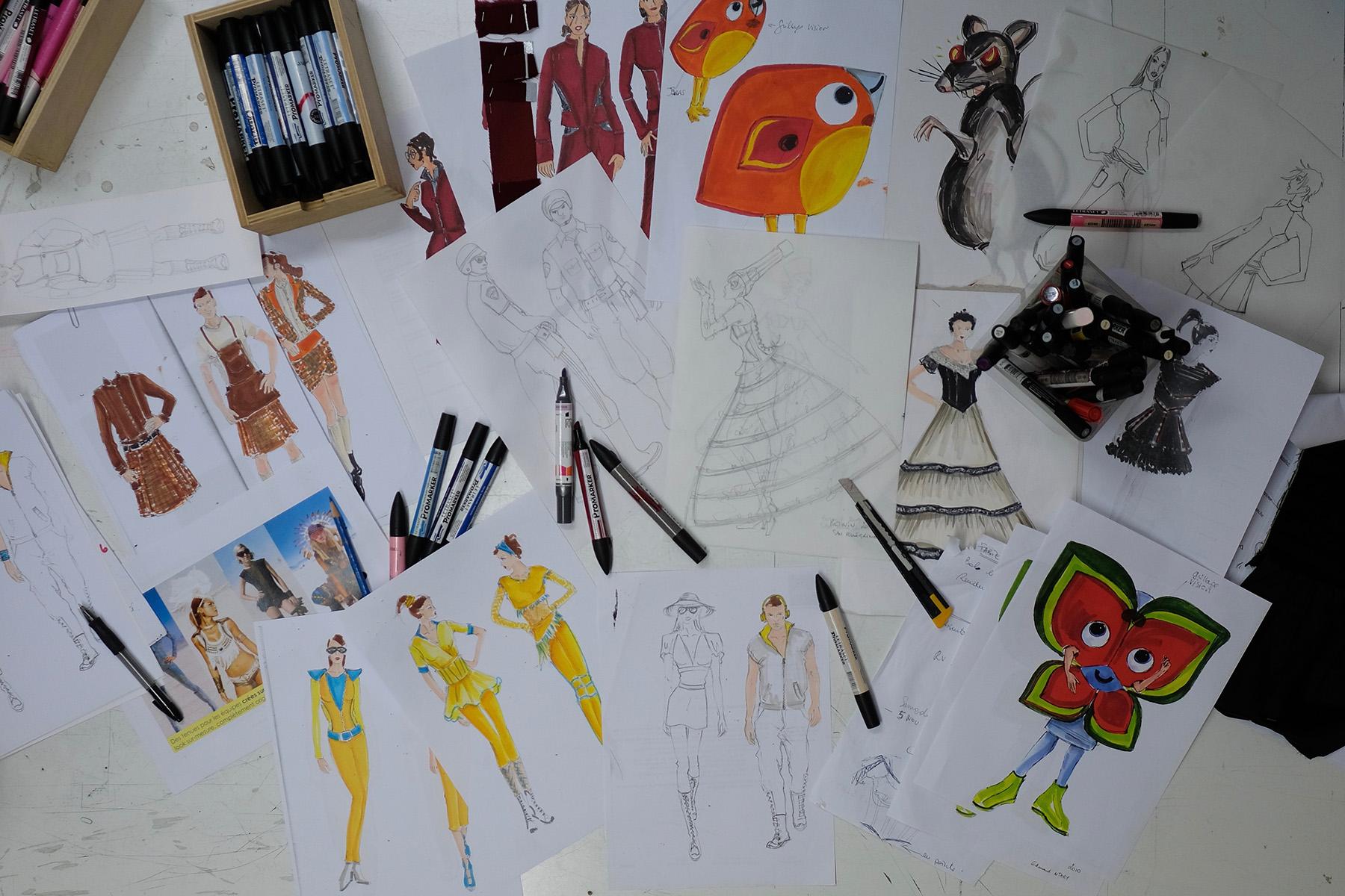 dessins Christine Capdevielle
